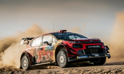 The C3 WRC returns to Latin America