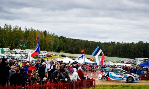 Rally Finland: Section four and five