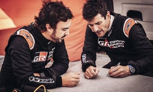 Dakar legend Coma to serve as Alonso's co-driver