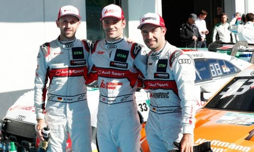 DTM: Green and Rast lead Audi Surge
