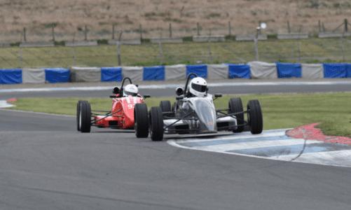 Jordan Gronkowski secures Scottish Formula Ford championship