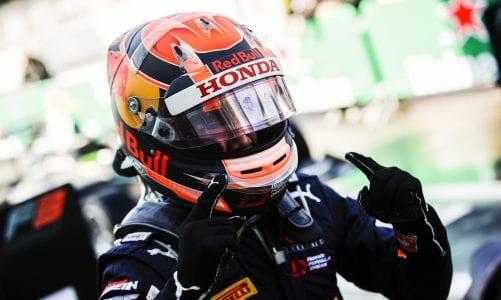 Terrific Tsunoda soars to first F3 win in Monza