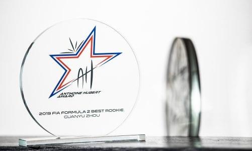 Formula 2 introduces the Anthoine Hubert Award