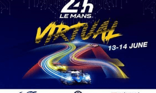 Virtual 24 Hours of Le Mans will take place on 13-14 June