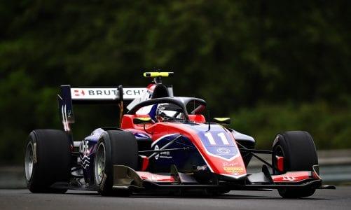 Formula 3: David Beckman fastest during free practice