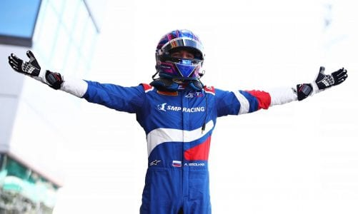 Smolyar loses maiden F3 win, Beckman promoted to first