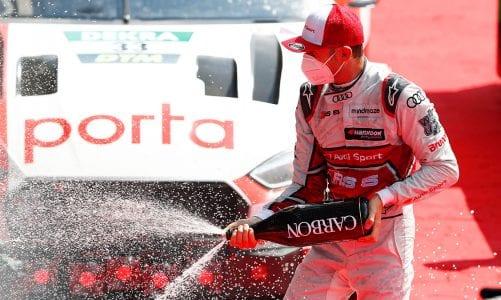 Rast keeps Müller at bay at Spa-Francorchamps