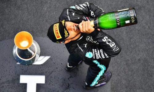 Hamilton takes record-equalling 91st victory as Ricciardo claims first Renault podium