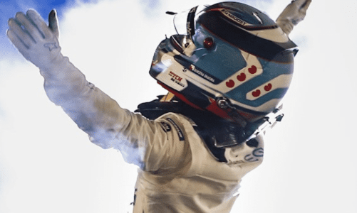 Nyck de Vries storms to maiden win in Formula E's first night race